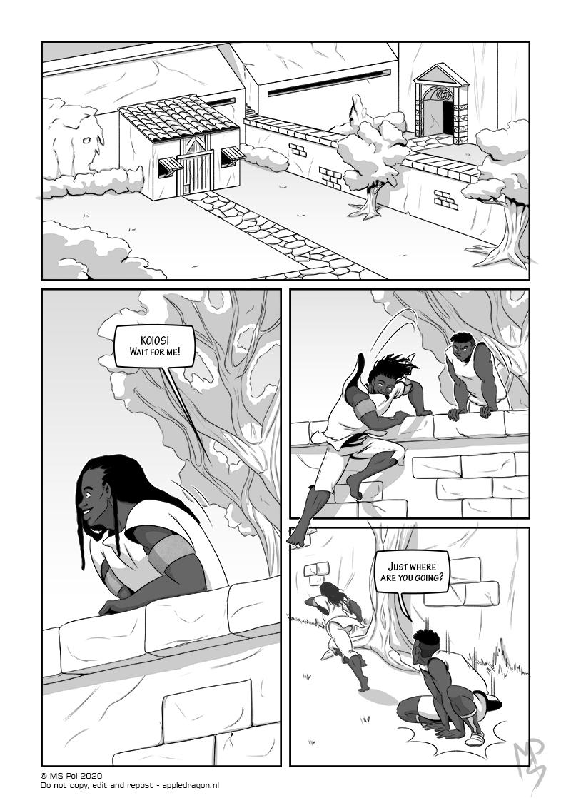 Short Comic; Gaia – Page 06
