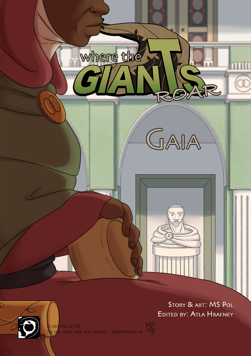 Short Comic; Gaia – Cover
