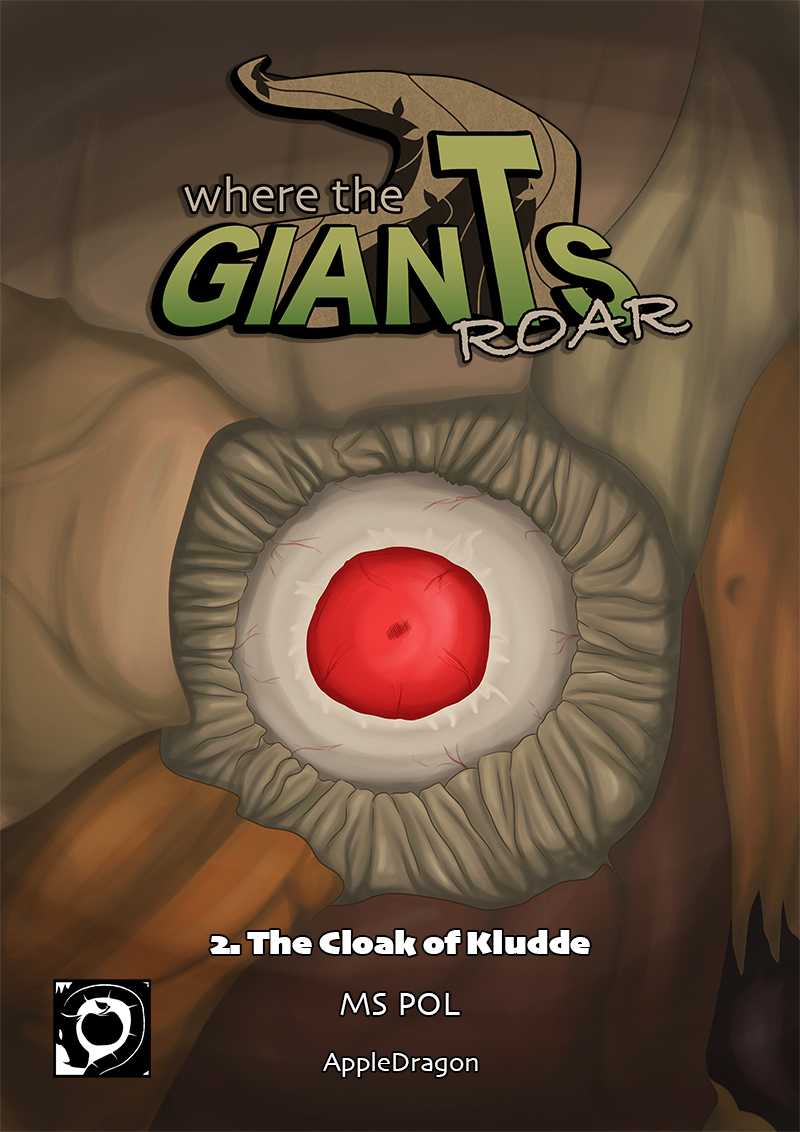 Book 2; The Cloak of Kludde Cover