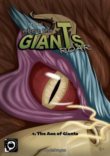 "New Book 1 Cover ""The Axe Of Giants"""