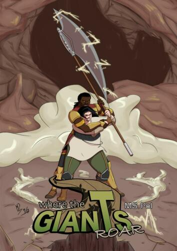 """Old Book 1 Cover """"The Axe Of Giants"""""""